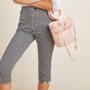 NWT Anthropologie Pedal Pushers 12